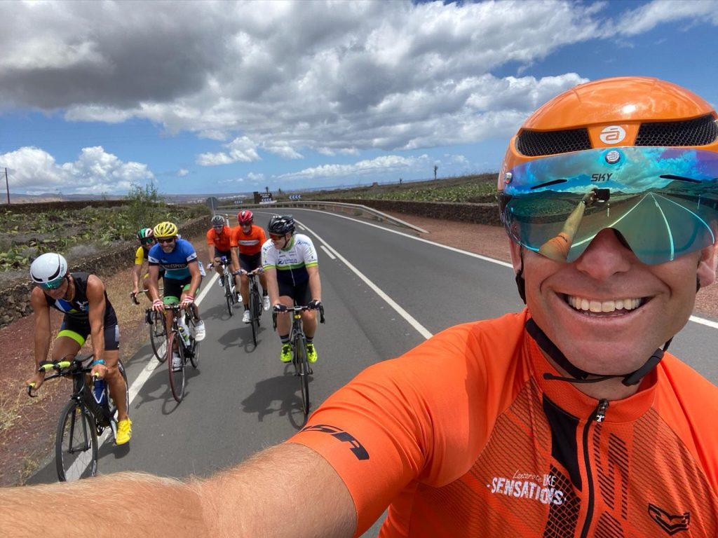 Fiets groep voor de fiets vakantie