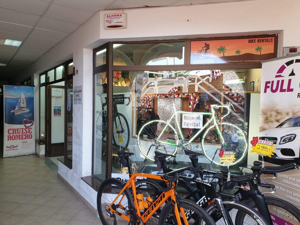 Bike Sensations vestiging Arcos Puerto Del Carmen